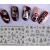 Adesivi unghie argento